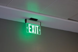 Noodverlichting Exit
