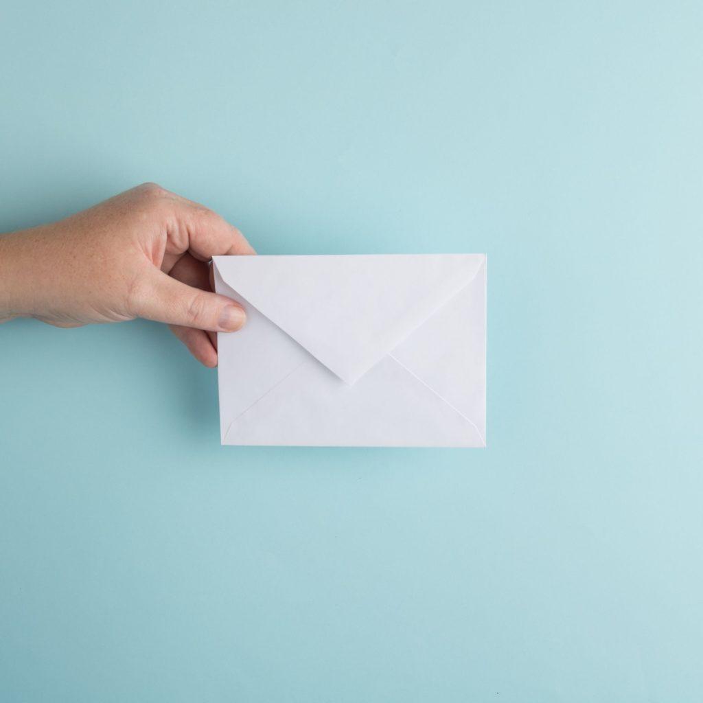 Wanneer moet jij van welke enveloppen gebruikmaken?